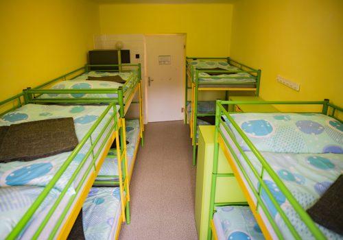 Turista szoba 8 ágyas